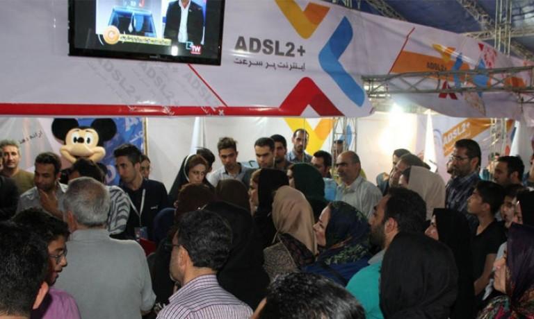 استقبال کم نظیر مردم از غرفه آسیاتک در نمایشگاه فناوری اطلاعات استان مازندران